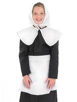 Costume pour enfants fille puritaine Costume Ecolier