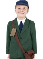 La seconde guerre mondiale Evacuee garçon Childrens Costume Costume Ecolier