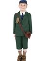 Costume Ecolier La seconde guerre mondiale Evacuee garçon Childrens Costume