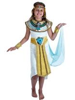Costume pour enfants fille égyptienne Costume Ecolier