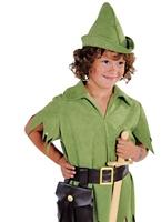 Robin des bois luxe ou Costume garçon Peter Pan Costume Ecolier