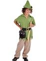 Costume Ecolier Robin des bois luxe ou Costume garçon Peter Pan