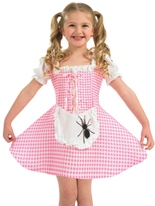 Costume Miss Muffet Childrens Costume Ecolier