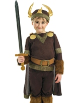 Costume de Viking Warrior pour enfants Costume Ecolier