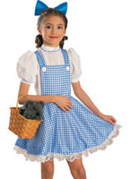 Costume de Childrens Dorothy luxe Costume Ecolier