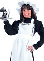 Costume de Maid victorienne de luxe enfant Costume Ecolier