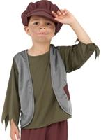 Pauvre garçon victorien Childrens Costume Costume Ecolier