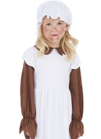 Pauvre fille victorienne Childrens Costume Costume Ecolier
