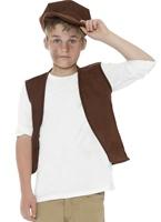 Jeu de garçon victorienne Urchin Costume Ecolier
