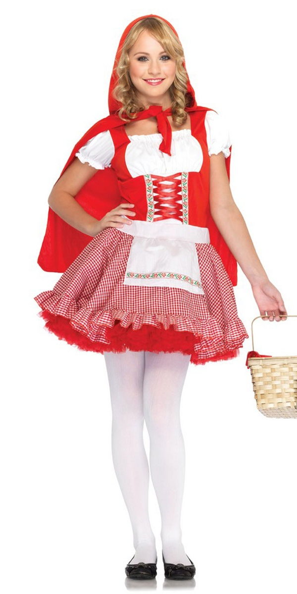 Costume ados Teen Lil' Miss rouge Costume