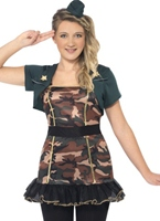Armée Teen Girl Costume Costume ados