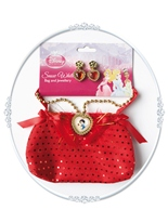 Enfant Disney Snow sac blanc & bijoux Costume Disney