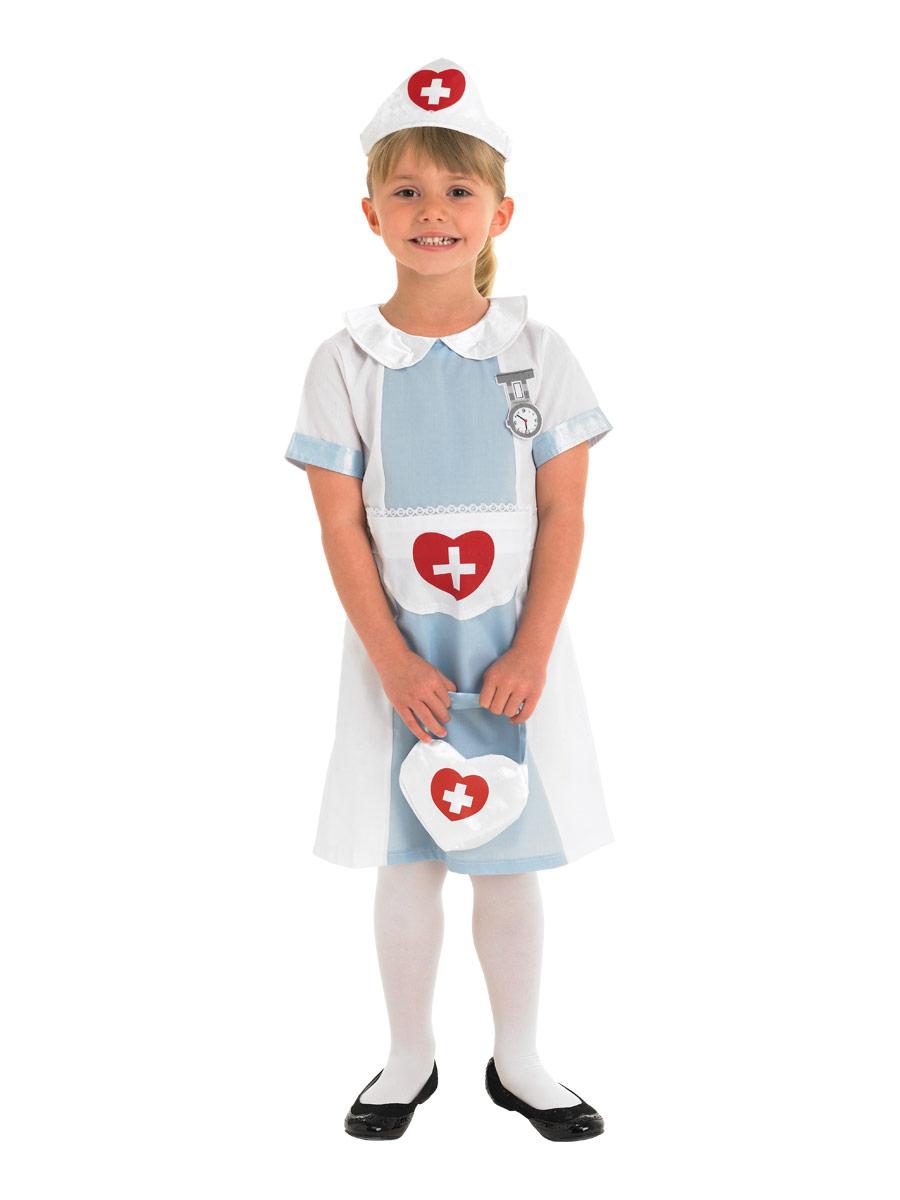 Déguisement Filles Costume d'infirmière pour enfants