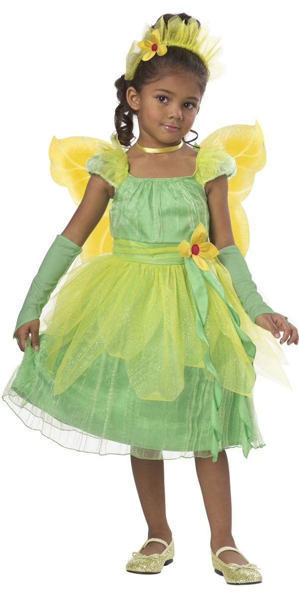 Déguisement Filles Costume de fée fleur