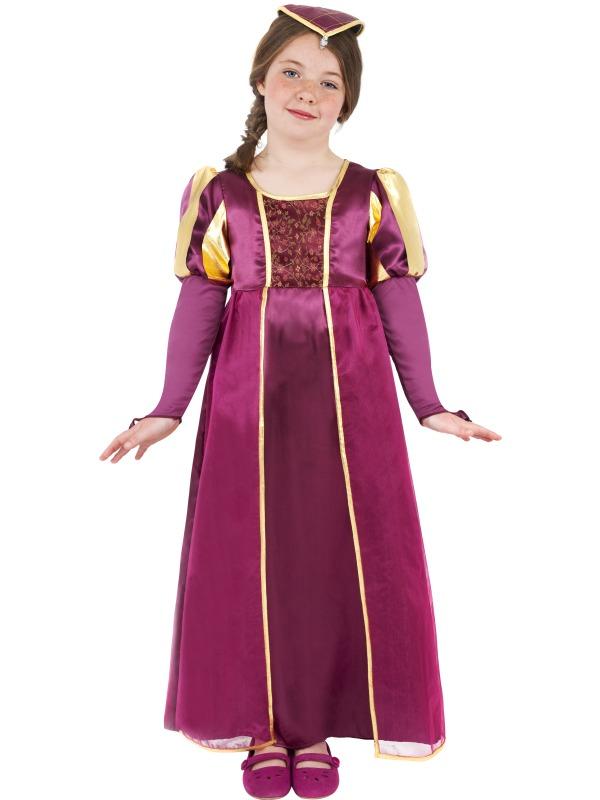 Déguisement Filles Tudor fille Childrens Costume