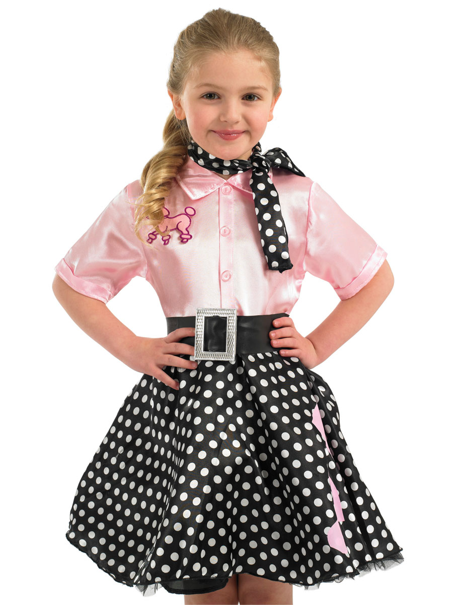 costume de robe rock 39 n roll pour enfants d guisement filles costume enfant 09 11 2018. Black Bedroom Furniture Sets. Home Design Ideas
