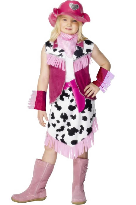 Déguisement Filles Rodeo Girls Childrens Costume
