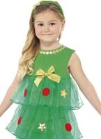 Petit arbre de Noël Tutu Costume Déguisement Filles