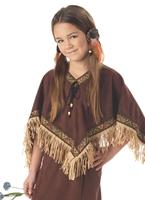 Costume de fille indienne enfant Déguisement Filles