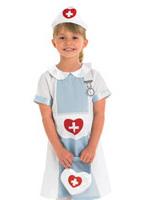 Costume d'infirmière pour enfants Déguisement Filles