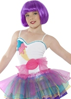Mini Katy Perry Candy Girl Costume Déguisement Filles