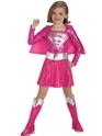 Déguisement Filles Costume de Supergirl rose enfant
