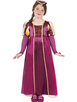 Tudor fille Childrens Costume Déguisement Filles