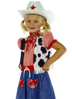 Costume de cow-girl Sweetie Childrens Déguisement Filles