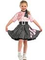 Déguisement Filles Costume de robe Rock ' n Roll pour enfants