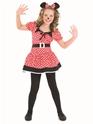 Déguisement Filles Costume de Childrens Little Missy souris