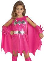 Costume de Batgirl rose enfant Déguisement Filles