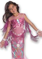 Costume pour enfants rose Mermaid Déguisement Filles