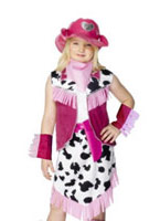 Rodeo Girls Childrens Costume Déguisement Filles