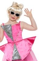 Mini Lady Gaga Costume Déguisement Filles