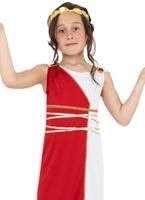 Costume de jeune fille grecque pour enfants Déguisement Filles