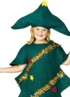 Arbre de Noël pour enfants Costume Déguisement Filles