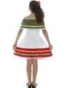 Déguisement Filles Costume fille mexicaine
