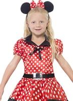 Costume de souris mignonne pour enfants Déguisement Filles