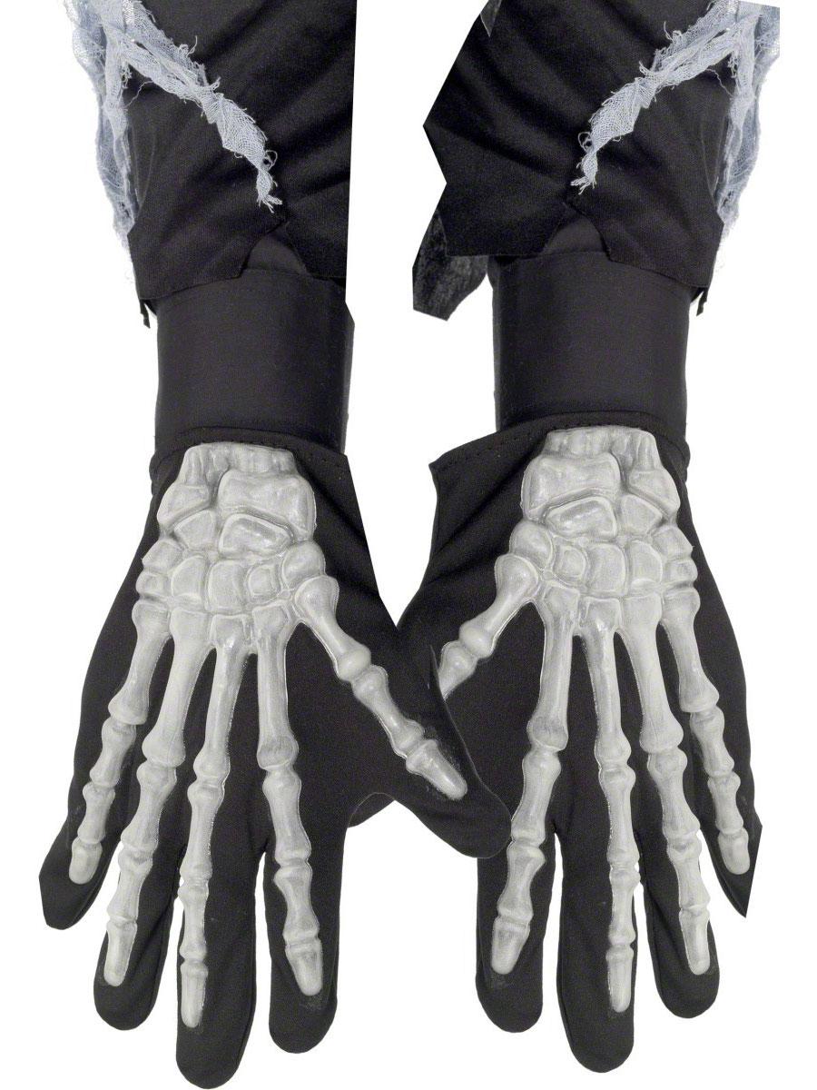 Accessoire Halloween Déclenché gants squelette Bones