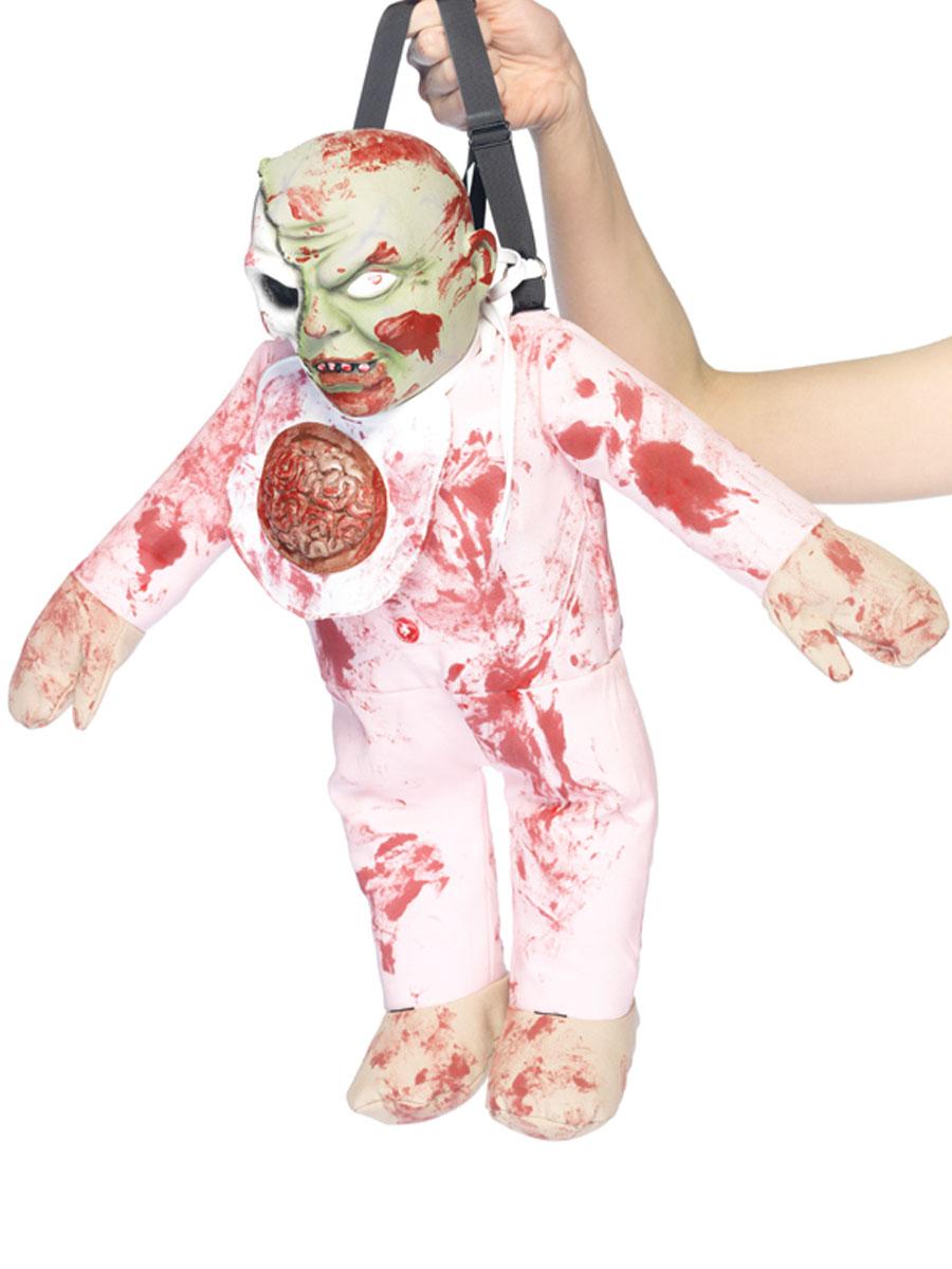 Accessoire Halloween Zombie Baby sac à dos