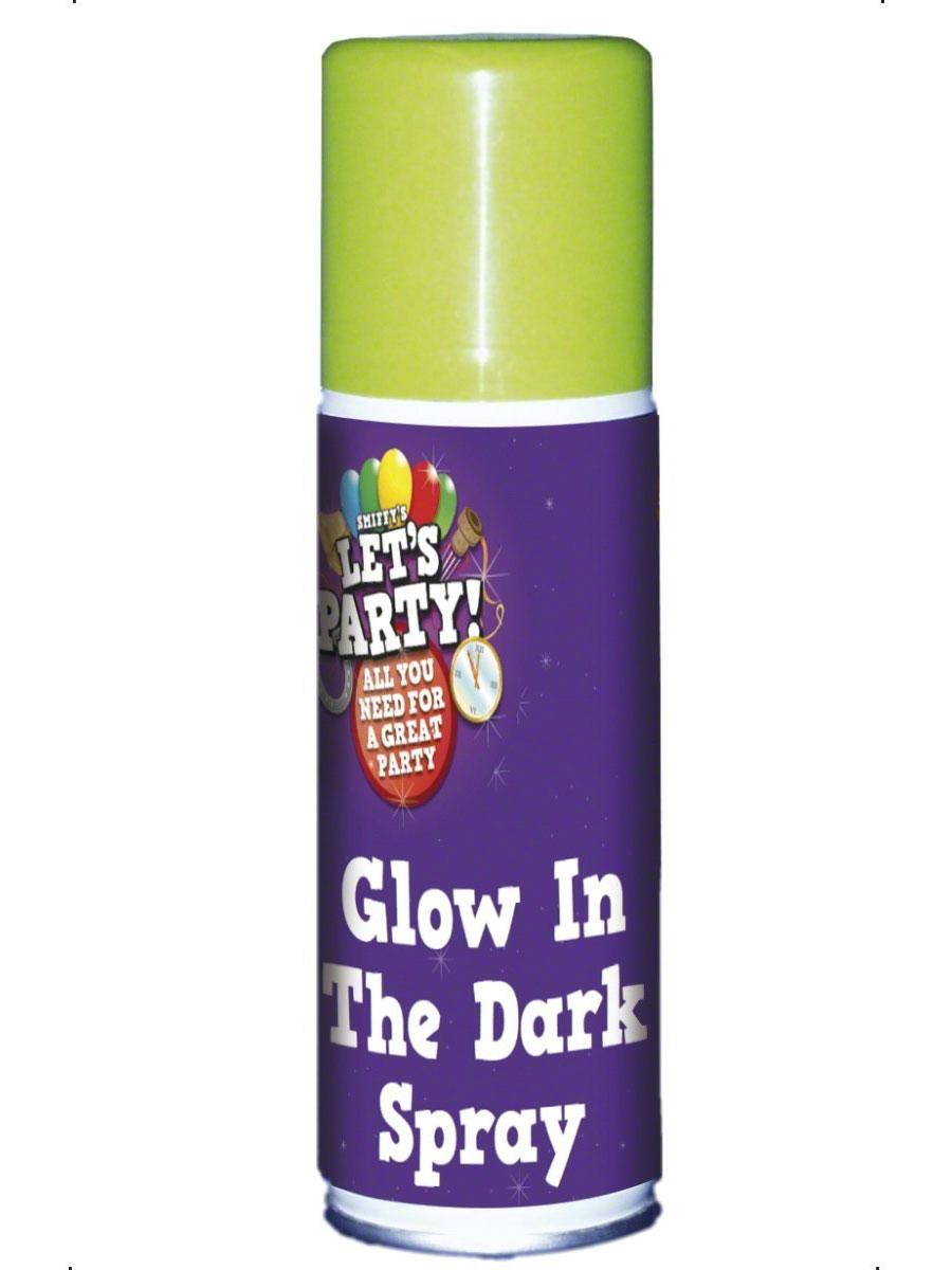 Accessoire Halloween Brillent dans le Spray noir