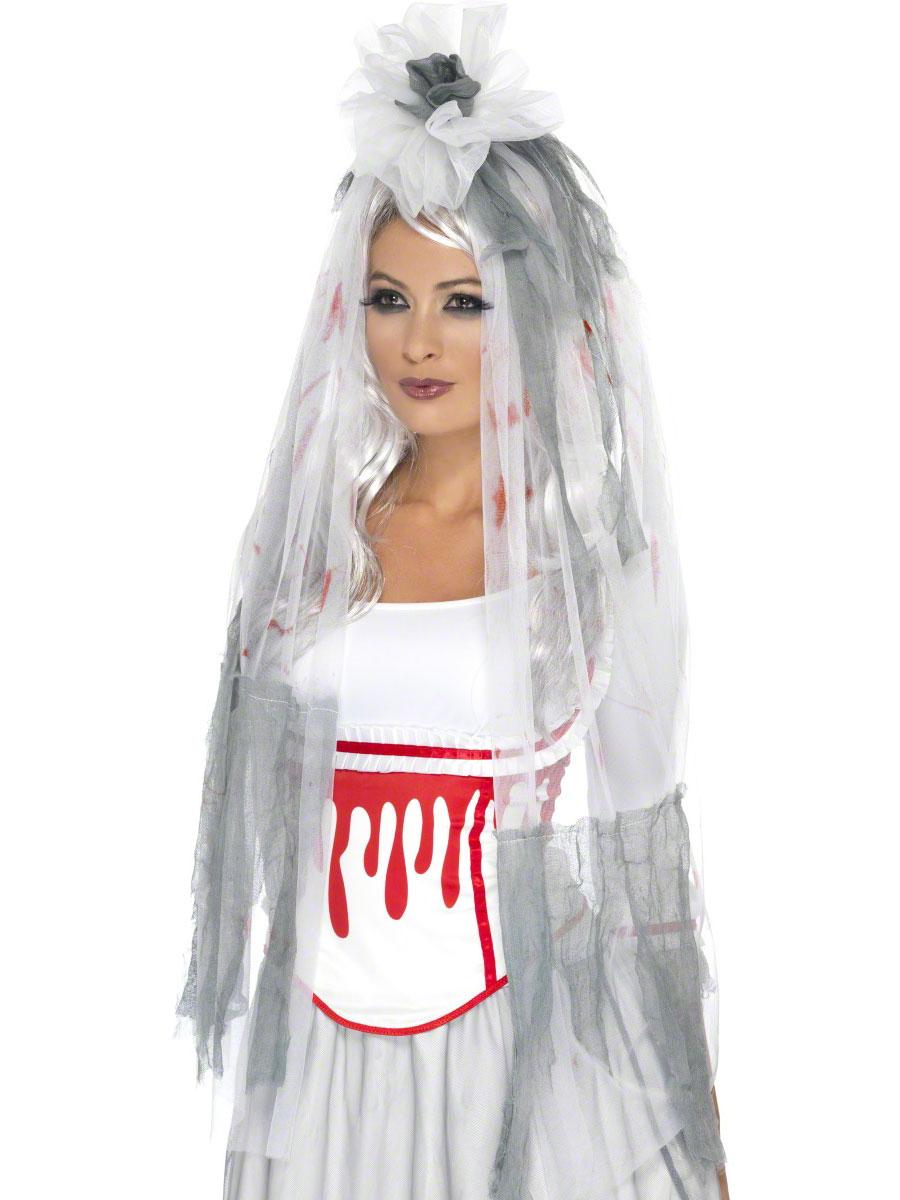 Accessoire Halloween Voile de goutte à goutte de sang