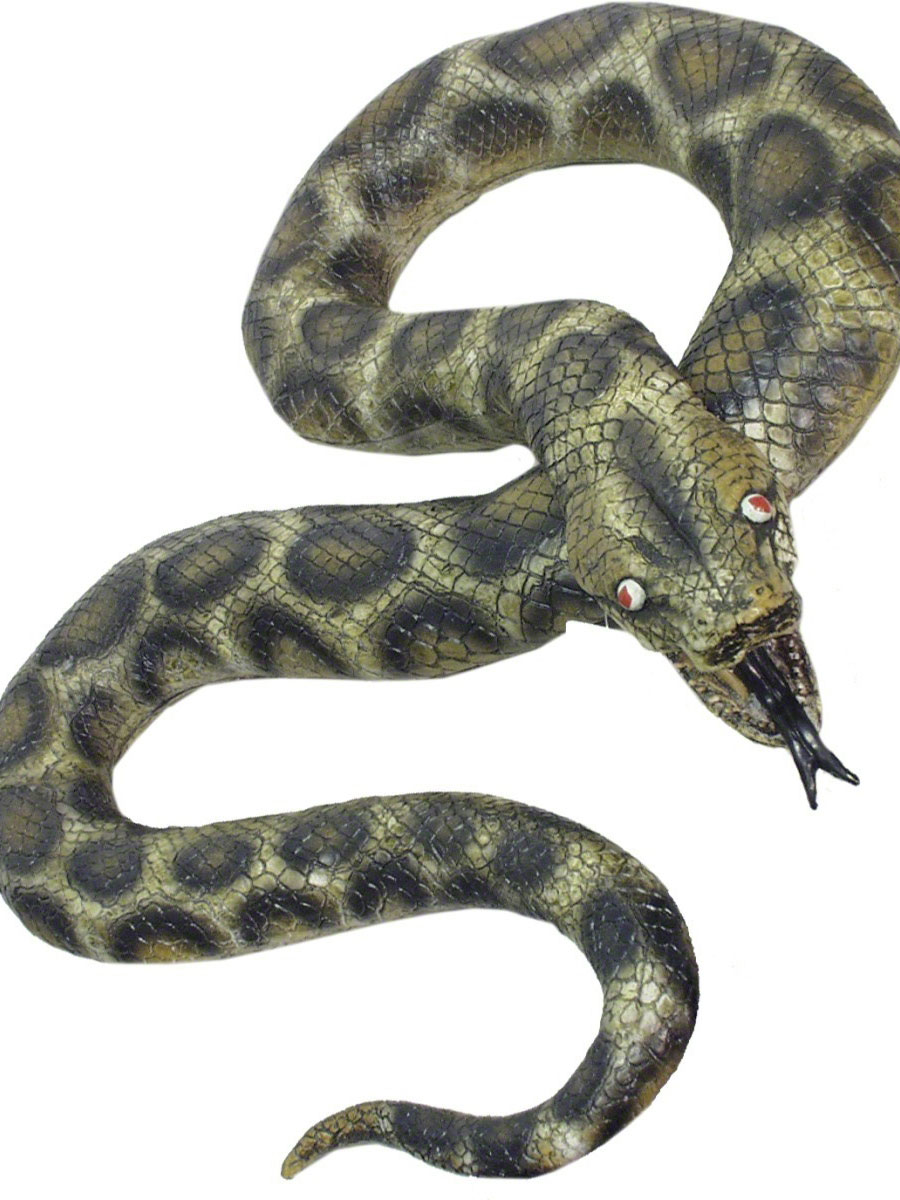 Accessoire Halloween Vie taille serpent vert et noir