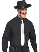 Cravate éclaboussé de sang Accessoire Halloween
