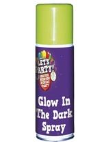 Brillent dans le Spray noir Accessoire Halloween
