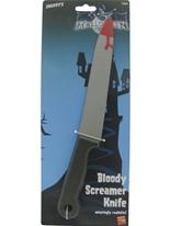 Screamer couteau plastique Accessoire Halloween