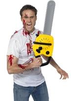 Tronçonneuse avec son Accessoire Halloween
