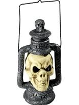 Lanterne crâne Accessoire Halloween
