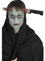 Accessoire Halloween Couteau à travers le bandeau de tête