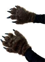 Mains de monstre poilu Accessoire Halloween